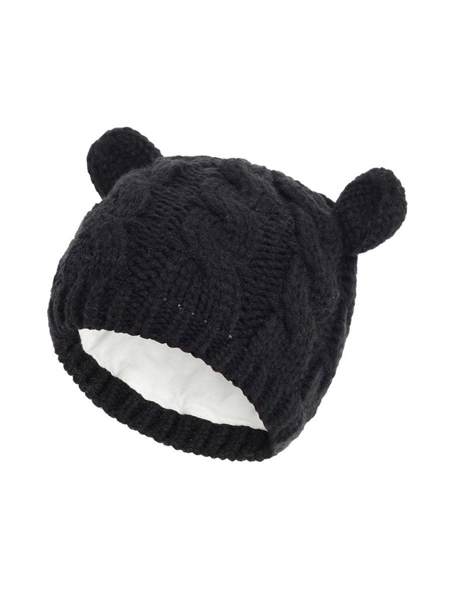 Cute Baby Ear Knit Hat Wholesale Hats ACCESSORIES Unisex