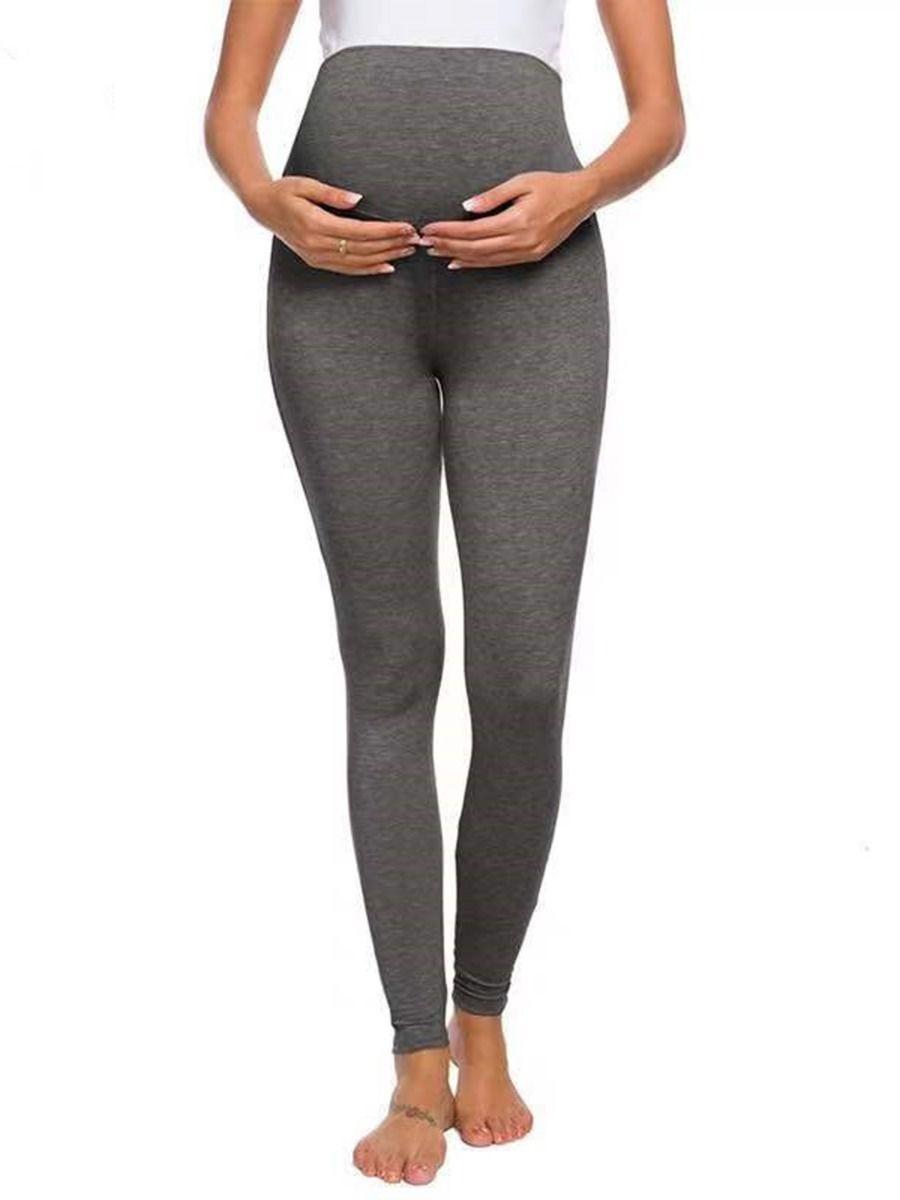 Maternity Solid Color Legging Pants Wholesale Women MOMMY & ME 2021-08-24