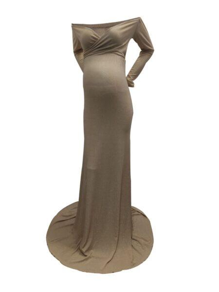 Maternity Photography V-Neck Mermaid Fishtail Dress Wholesale Women MOMMY & ME 2021-08-24