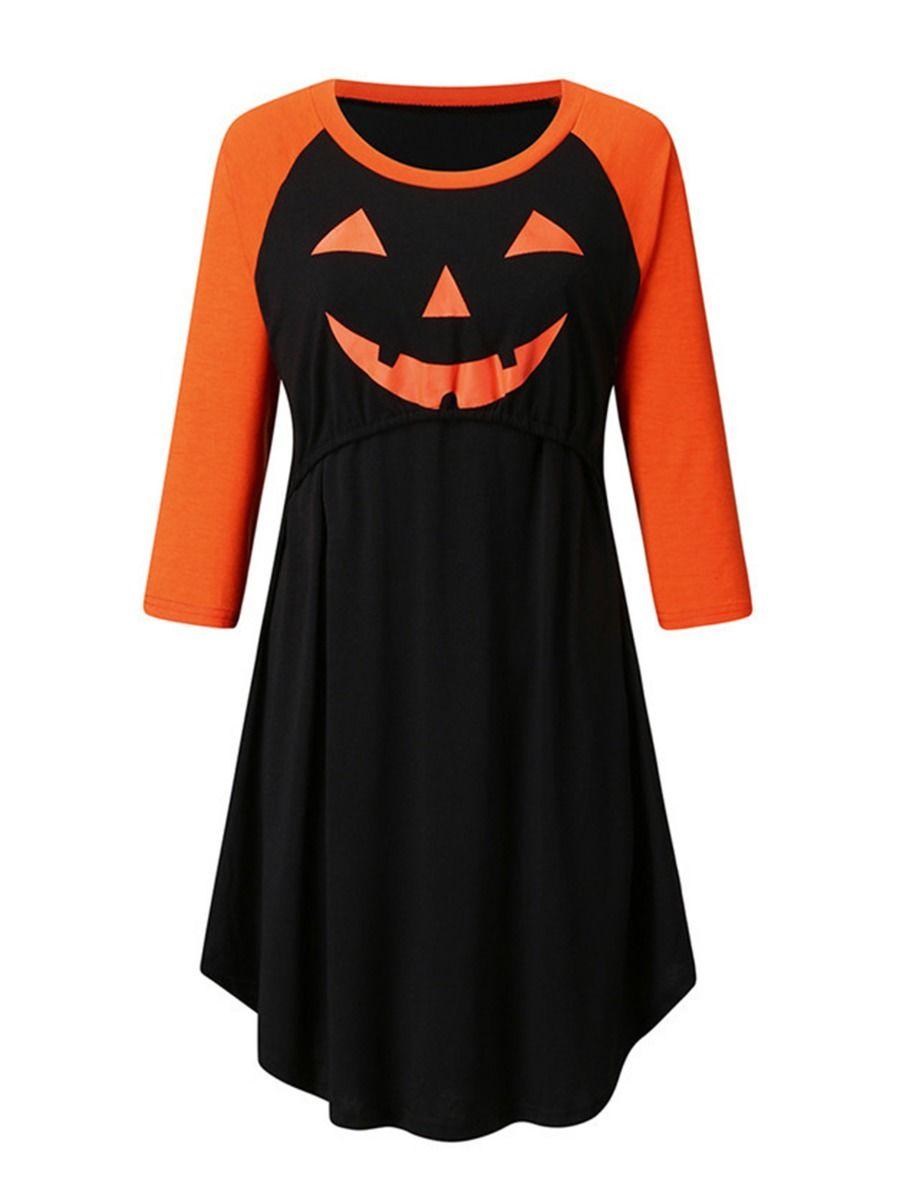Maternity Halloween Nursing Dress Wholesale Women MOMMY & ME 2021-08-24