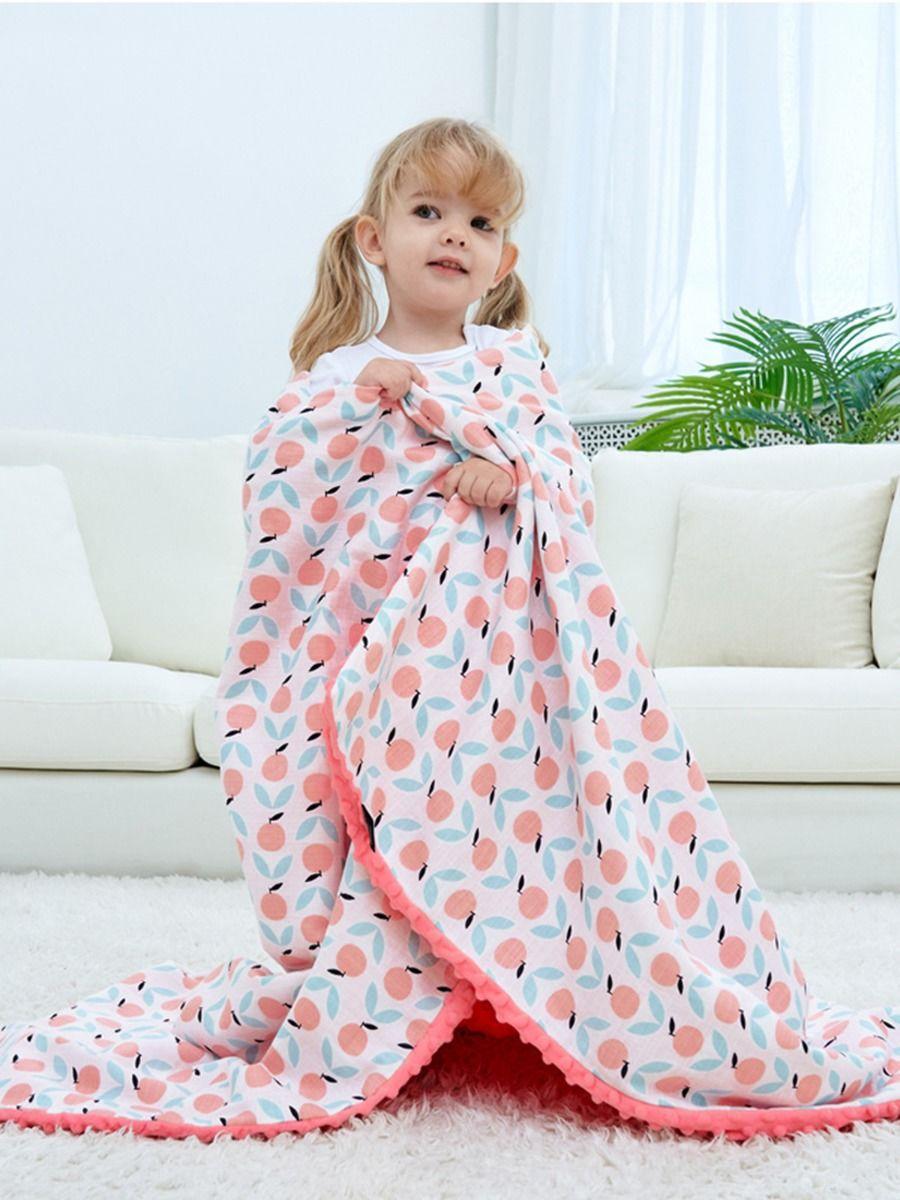 Baby Durable Printed Blanket Wholesale ACCESSORIES Unisex
