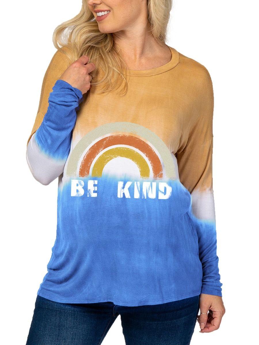 Maternity Tie Dye Rainbow Top Wholesale MOMMY & ME 2021-08-23