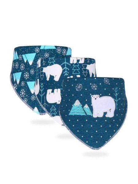 3-Pack Baby Unisex Animal & Cartoon Pattern Bib Wholesale 2