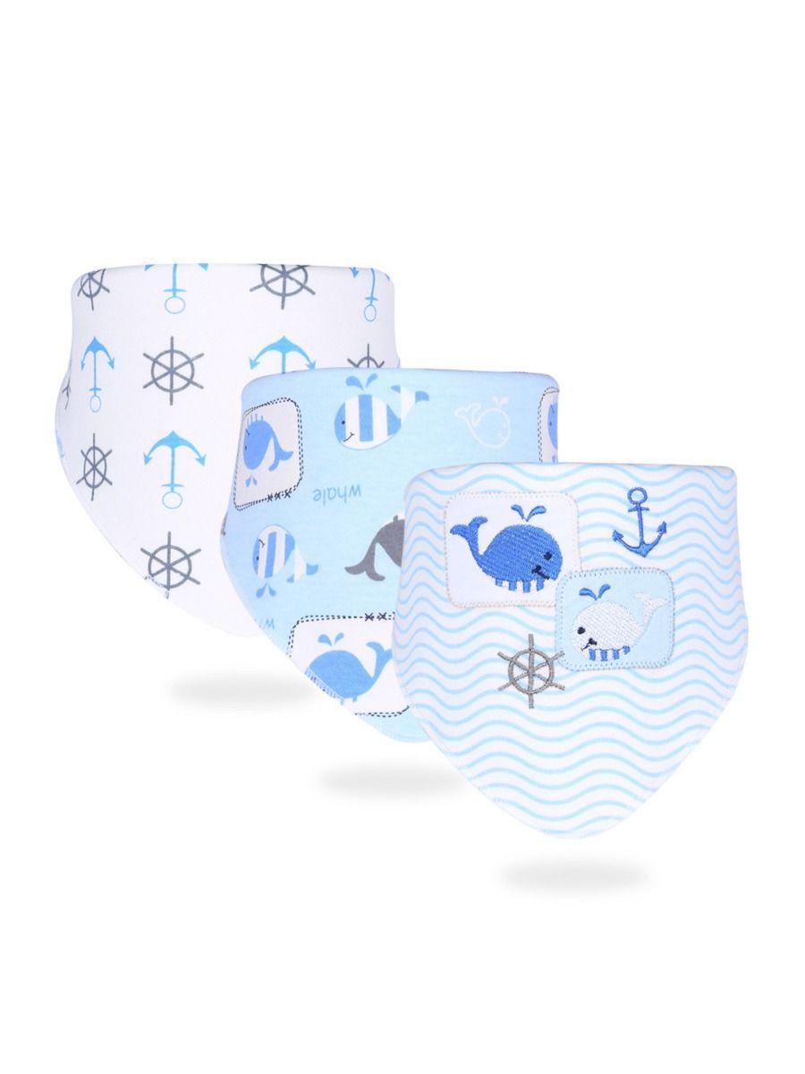 3-Pack Baby Unisex Animal & Cartoon Pattern Bib Wholesale