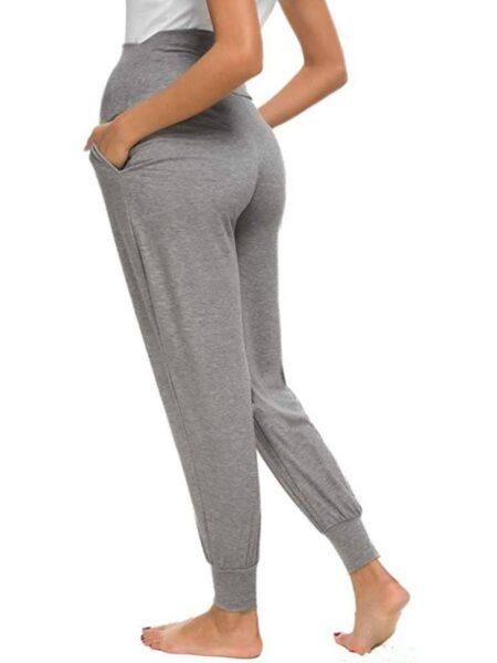 Pure Color Maternity Casual Pants Wholesale Women 2