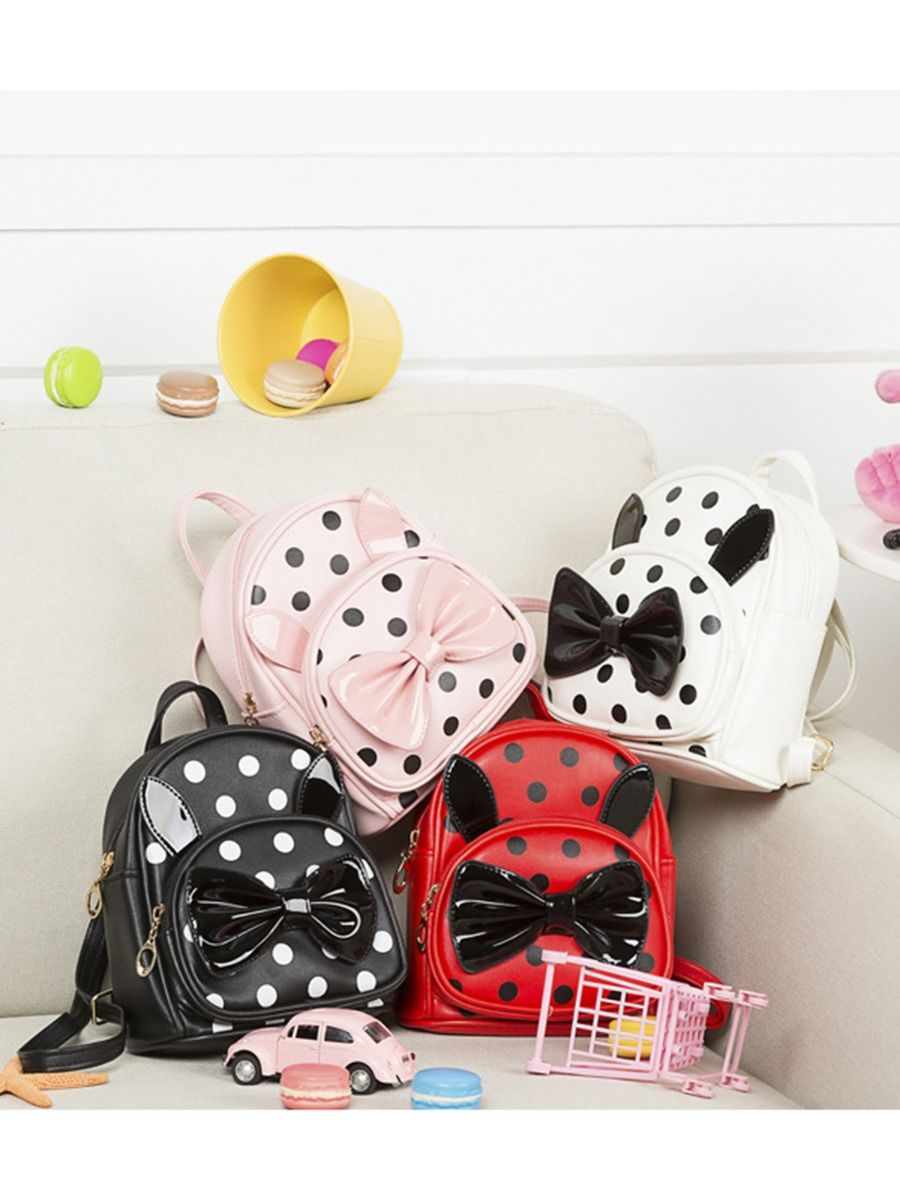 Girl Bunny Pom Pom Backpack Wholesale ACCESSORIES 2021-08-18