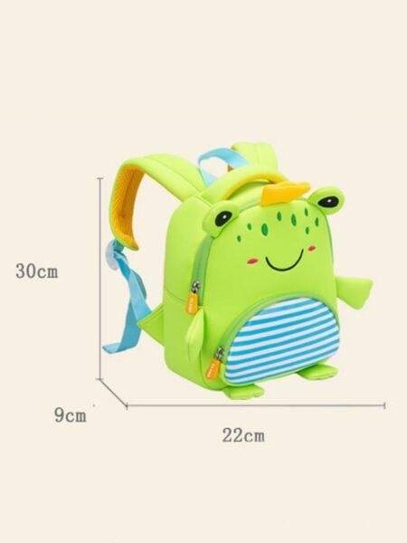 Toddler Frog Shape Backpack Wholesale 2