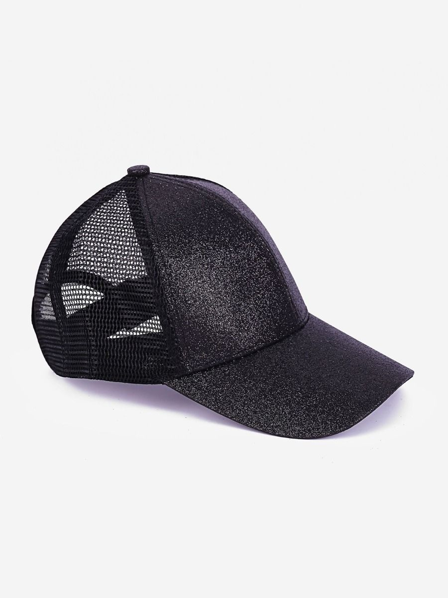 Kids Glitter Ponytail Baseball Cap Wholesale Hats