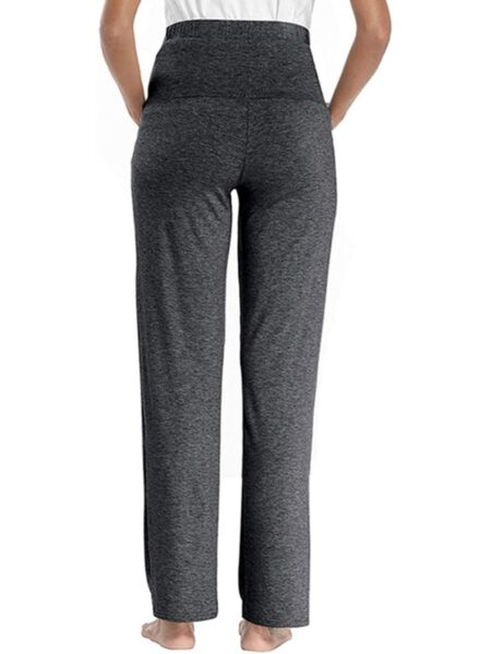 High Waisted Lounge Wear Maternity Pants Wholesale MOMMY & ME 2021-08-20