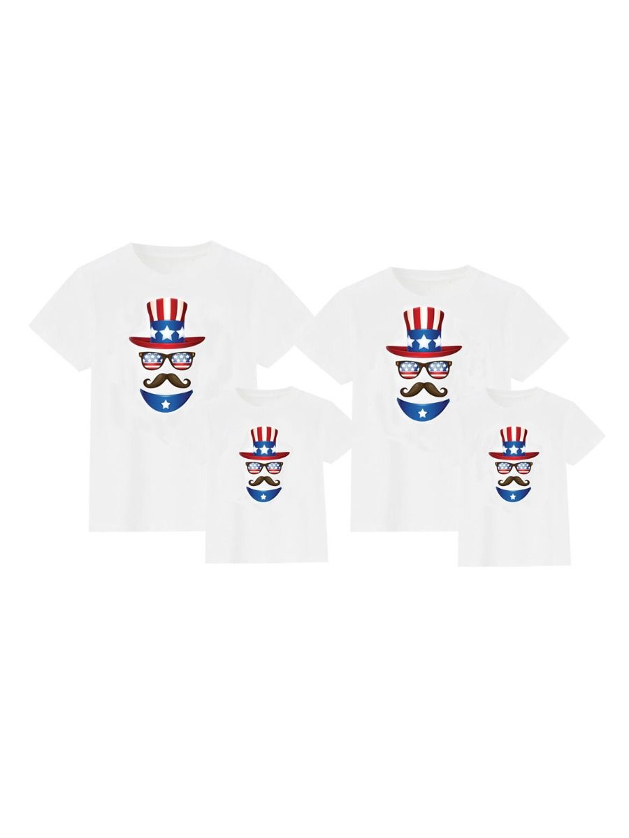 Sunglasses Independence Day Family Matching T-Shirt