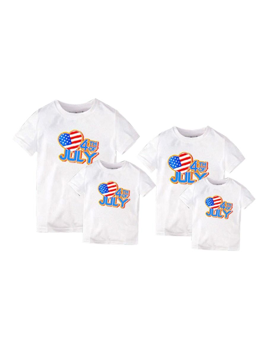 4th Of July Independence Day Family Matching T-Shirt