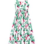 Mommy And Me Floral Print Cami Dress  Wholesale 3