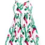 Mommy And Me Floral Print Cami Dress  Wholesale 4