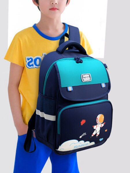 Kid Cartoon Backpack With Pencil Case  Wholesale 2