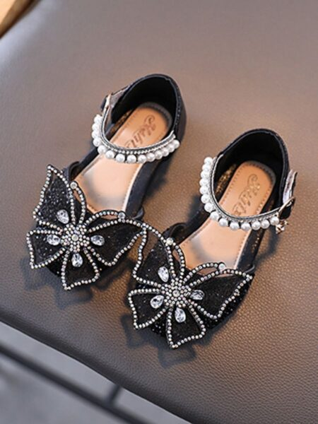 Kid Girl Butterfly Beaded Shoes 2
