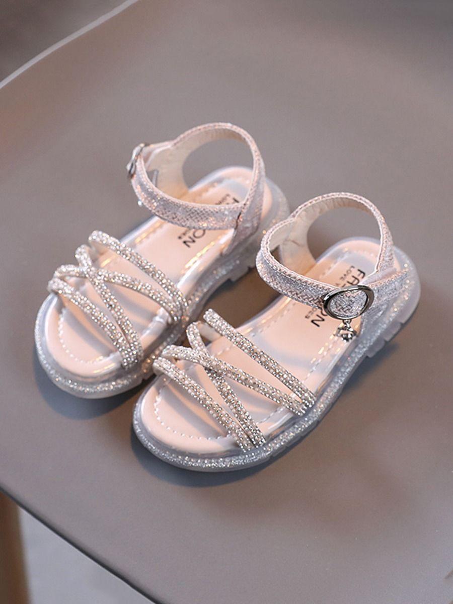 Sequins Beaded Kid Girl Sandals