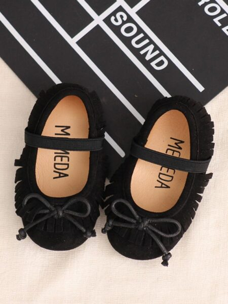 Kid Girl Tassel Casual Shoes 2