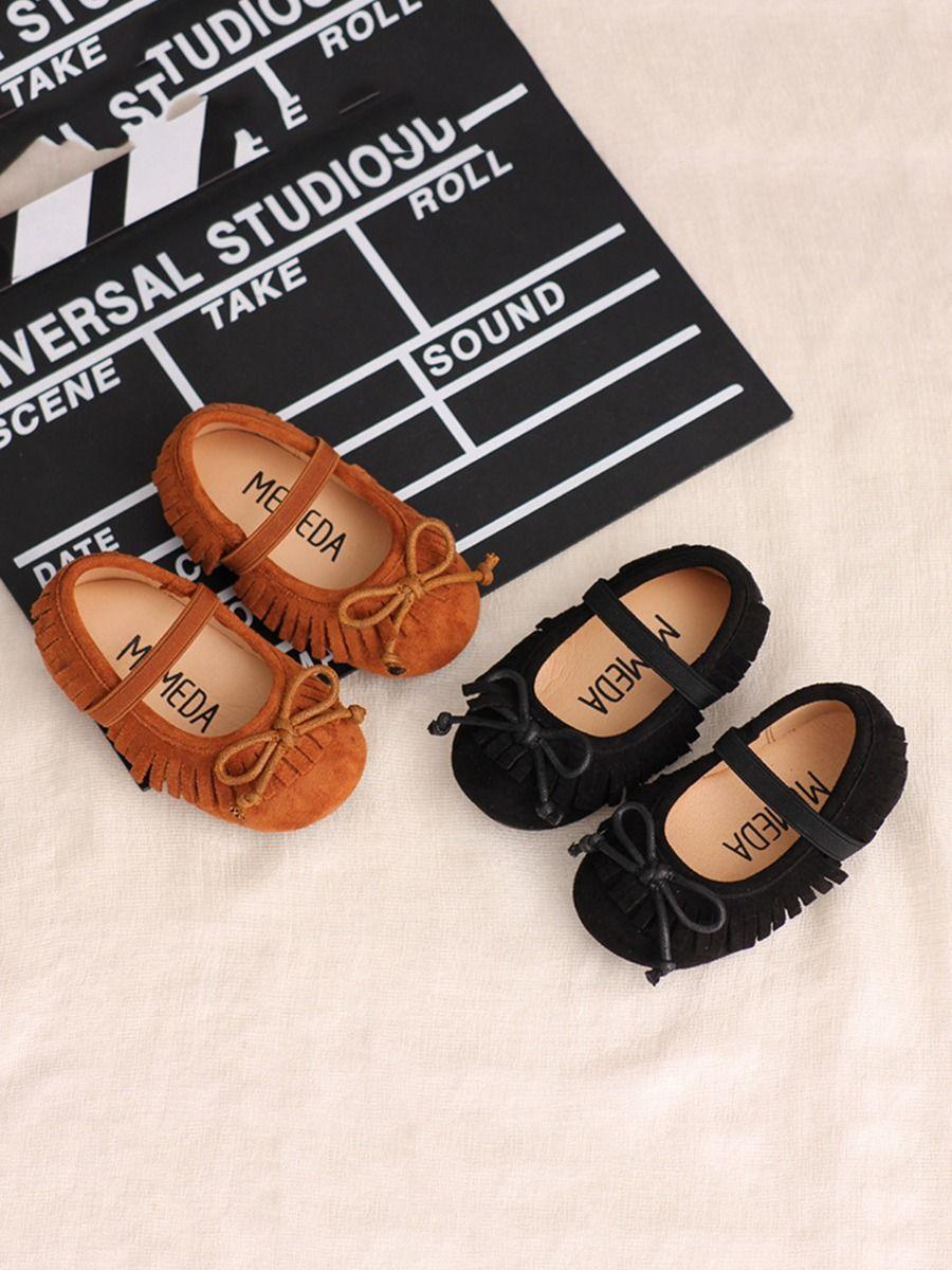 Kid Girl Tassel Casual Shoes