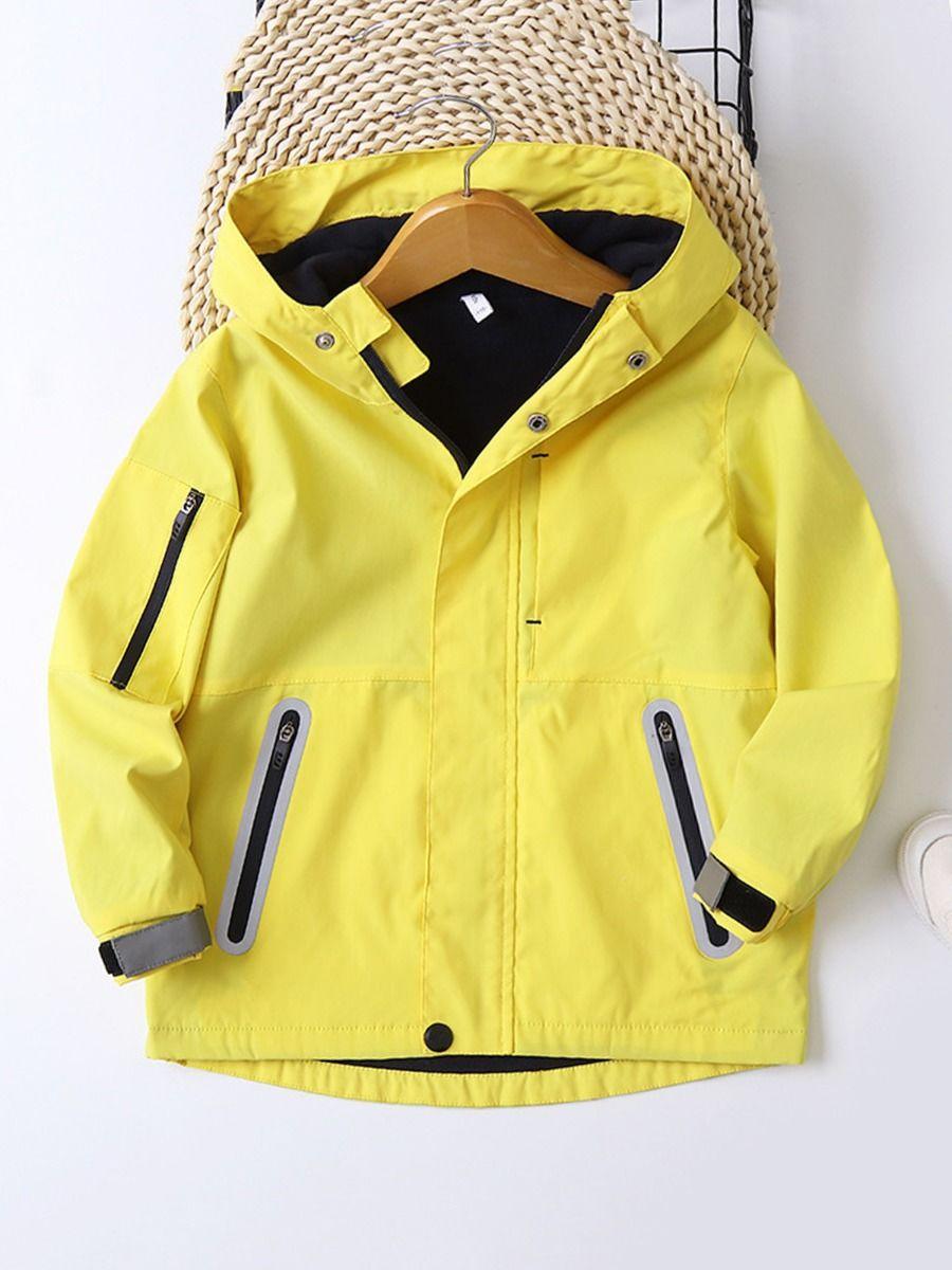 Kid Boy Zip Up Hooded Jacket  Wholesale