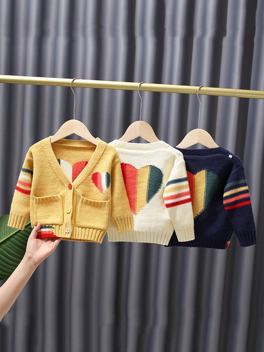 5-pack Embroidered Flower Knit Cardigan For Kid Girls  Wholesale CARDIGANS 2021-08-28