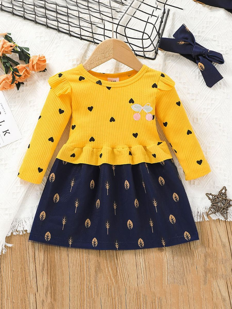 Love Heart Dresses For Little Girls  Wholesale BABIES 2021-08-31