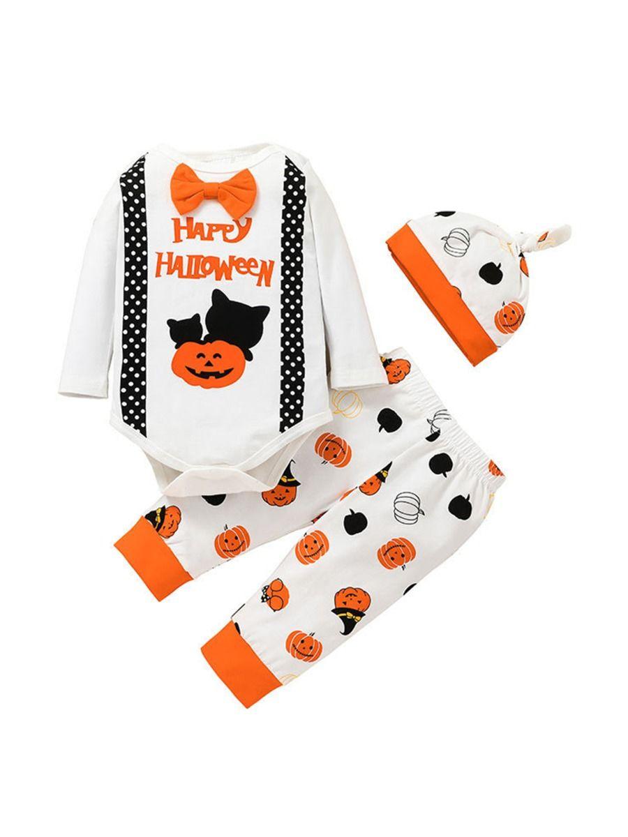 HAPPY HALLOWEEN Baby Boy Set Wholesale Baby Clothes Wholesale