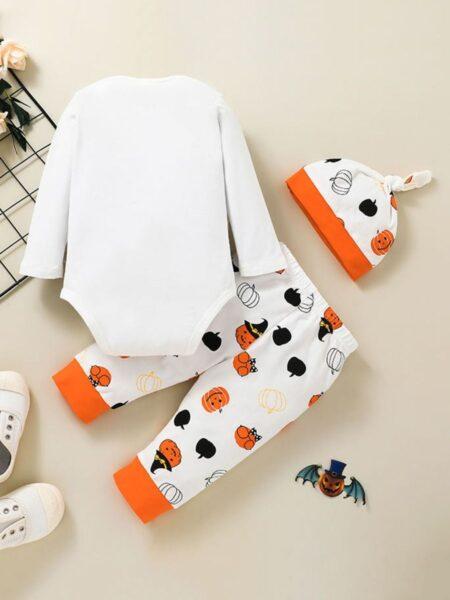 HAPPY HALLOWEEN Baby Boy Set Wholesale Baby Clothes Wholesale 2