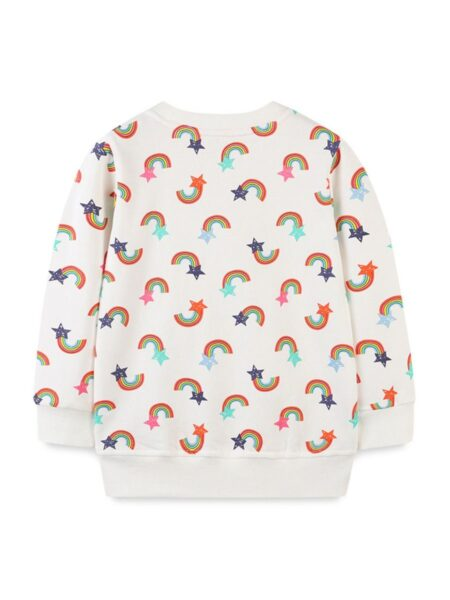6-pack Rainbow Star Print Top Wholesale Girls Clothes Wholesale 2