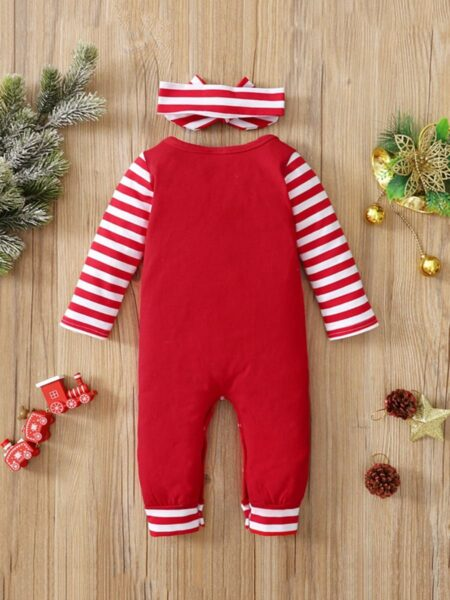 Merry Xmas Baby Jumpsuit Wholesale Baby Clothes  Wholesale 2
