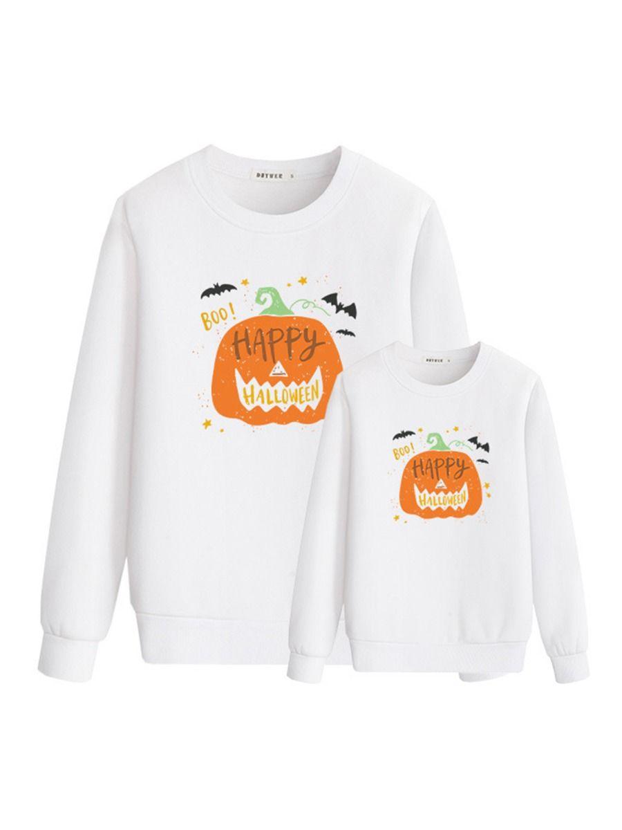 Happy Halloween Pumpkin Mommy And Me Top