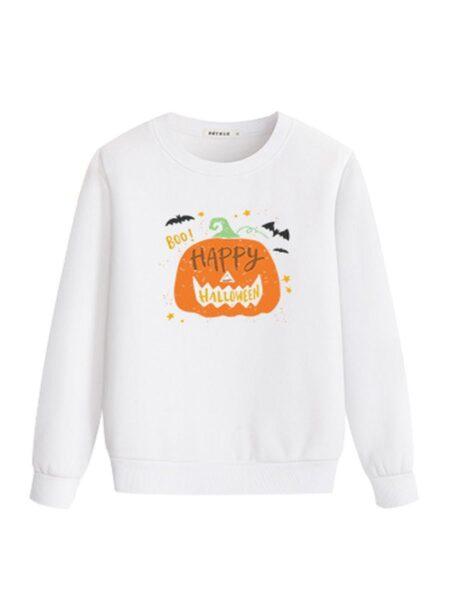 Happy Halloween Pumpkin Mommy And Me Top 2