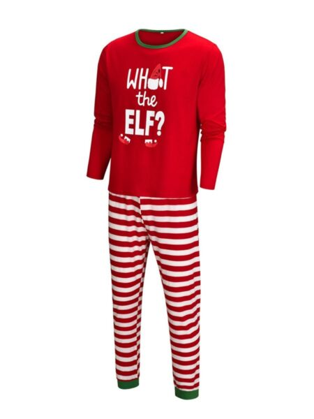 What The Elf Family Matching Christmas Homewear Set Wholesale Family Matching FAMILY MATCHING 2021-09-13