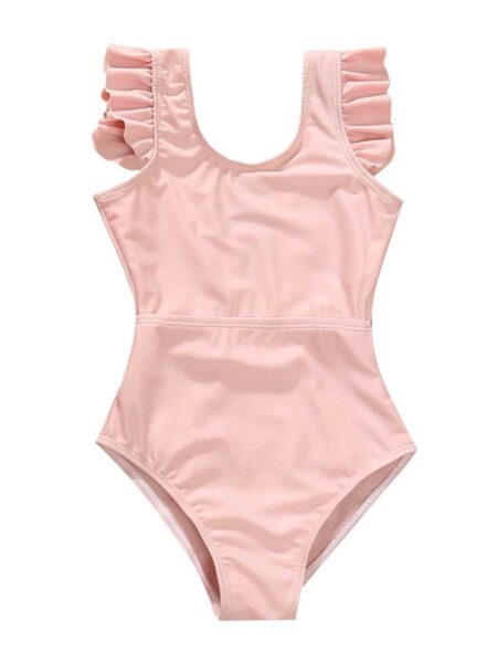 Mommy And Daughter Solid Color One Piece Swimsuits Wholesale FAMILY MATCHING 2021-09-10