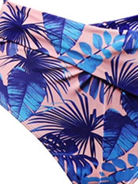 Mommy and Daughter 2-Pieces Print Bathing Suits Wholesale FAMILY MATCHING 2021-09-09