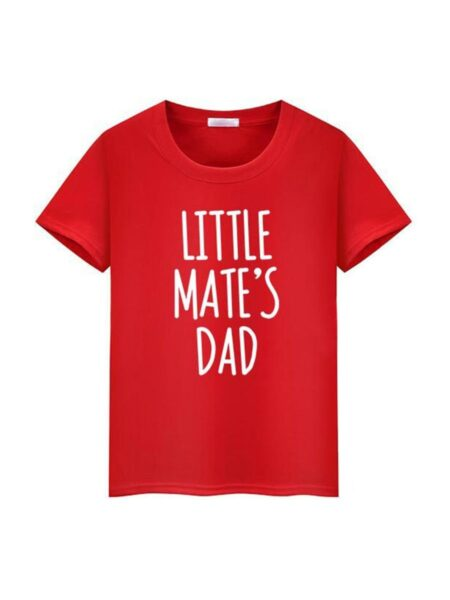 Daddy And Me Letters Tee Wholesale Family Matching FAMILY MATCHING 2021-09-08