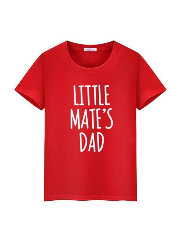 Daddy And Me Letters Tee Wholesale Family Matching 5