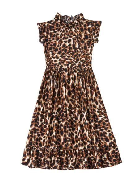 Mummy And Me Leopard Dress Wholesale Family Matching 2