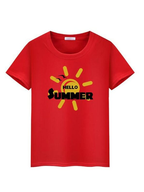 Father And Son Sun T-shirt Wholesale Family Matching 8