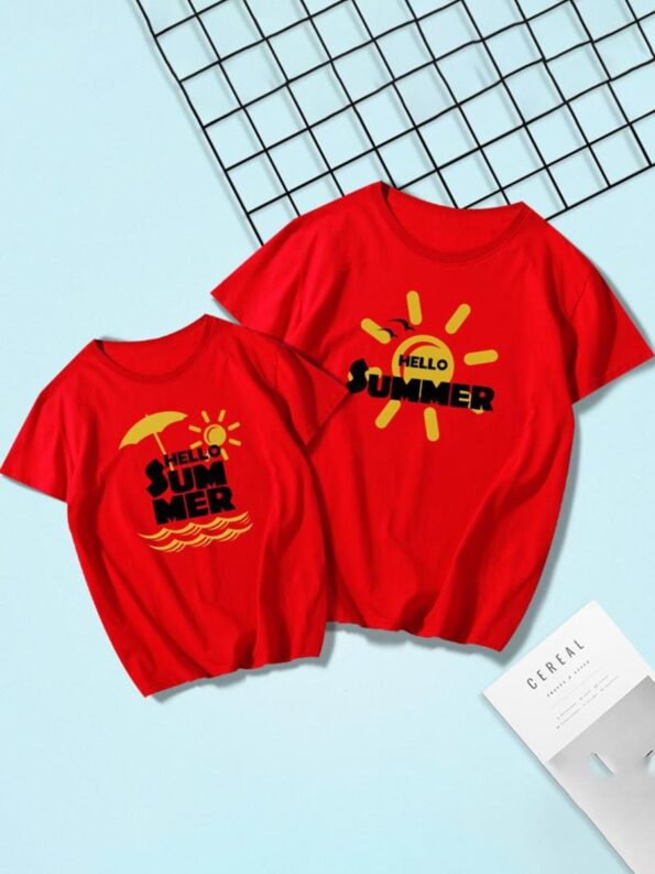 Father And Son Sun T-shirt Wholesale Family Matching 6