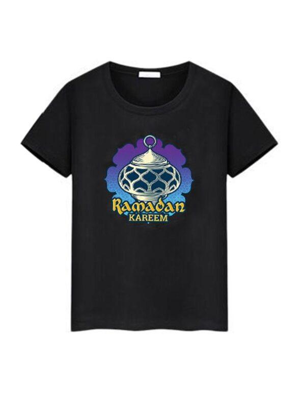 Family Matching Ramadan T-shirt In Black Wholesale Family Matching 10