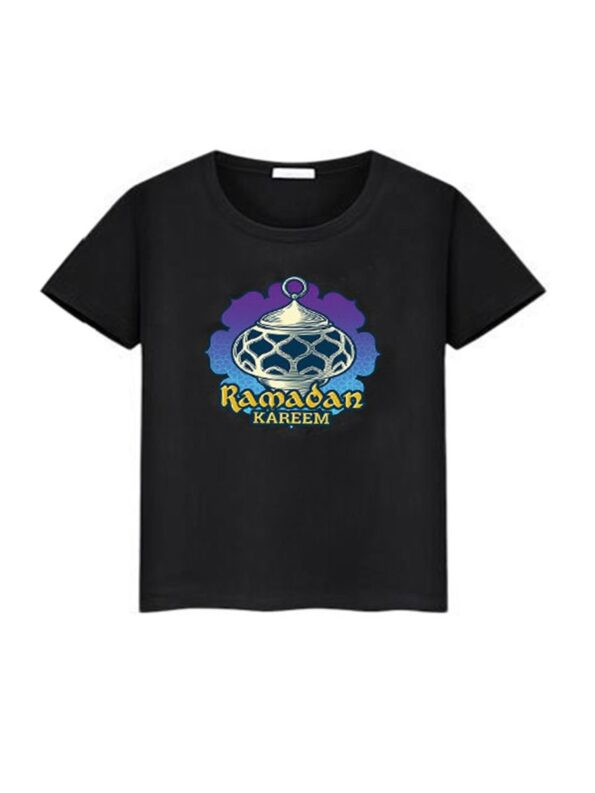 Family Matching Ramadan T-shirt In Black Wholesale Family Matching 9