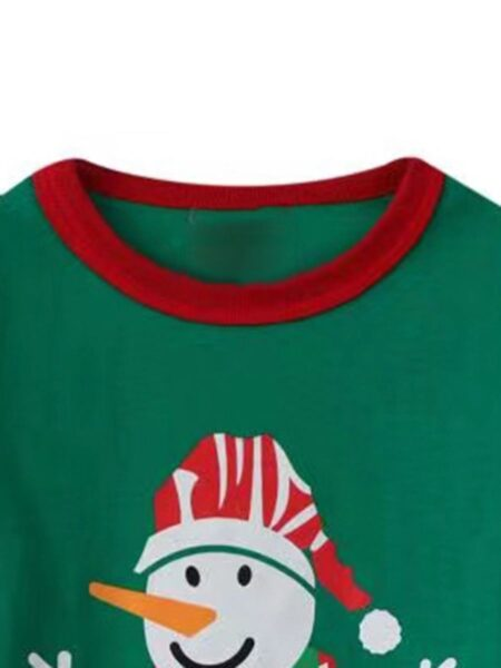 Snowman Long-sleeve Top Kids Wholesale Clothing  Wholesale 2