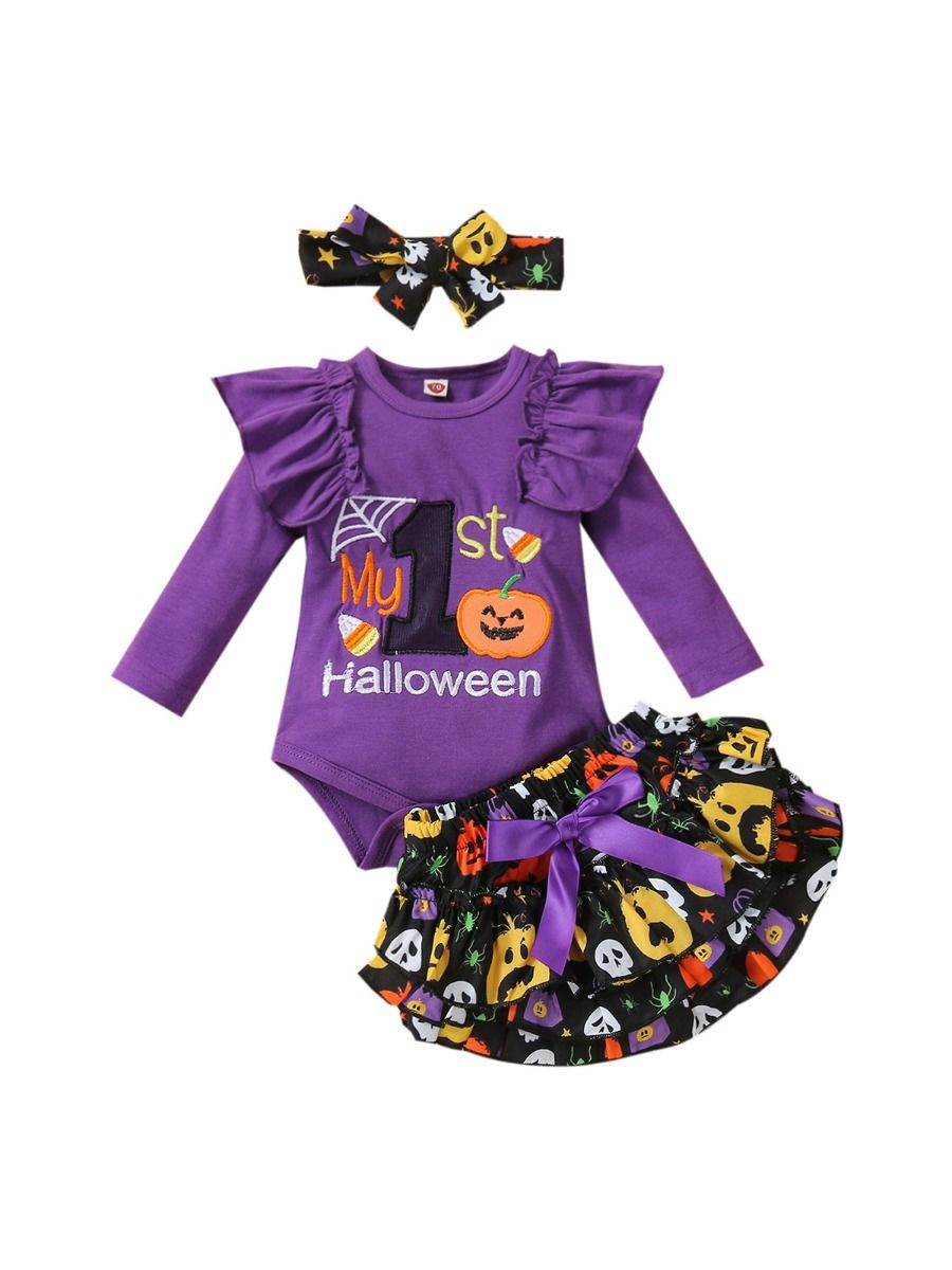 I'm My Daddy's Girl And My Mommy's World Flower Print Wholesale Baby Clothing Sets  Wholesale 22