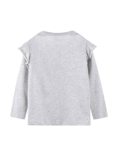Unicorn Star Full Sleeve Kid Girl Top Wholesale Girls Clothes  Wholesale GIRLS 2021-09-04