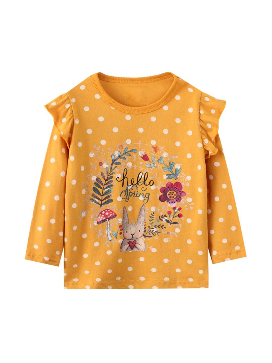Kid Girl Unicorn Star Print Top Wholesale Girls Clothes Wholesale GIRLS 2021-09-04