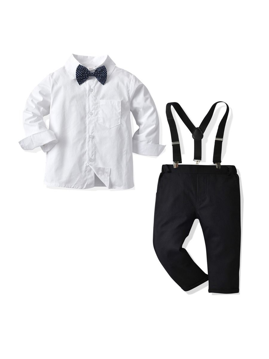 Color Blocking Shirt Kid Boys Suit Sets Wholesale Boy Clothes  Wholesale 11