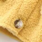 Solid Color Fleece Pocket Decor Kid Jackets Wholesale Kids Clothing Wholesale 8