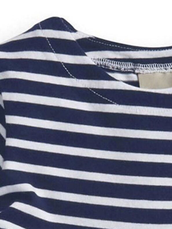 Striped Rainbow Print Dresses For Girl  Wholesale 7