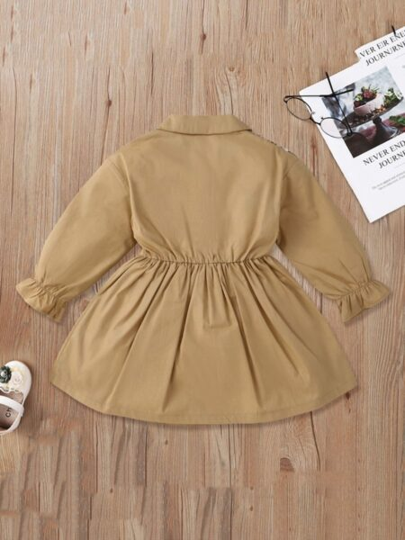 Plaid Shirt Dresses Wholesale Girls Clothes  Wholesale DRESSES 2021-09-10