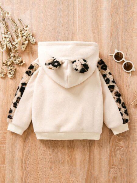 MAMA'S BESTIE Leopard Print Hoodie Kids Wholesale Clothing  Wholesale 2